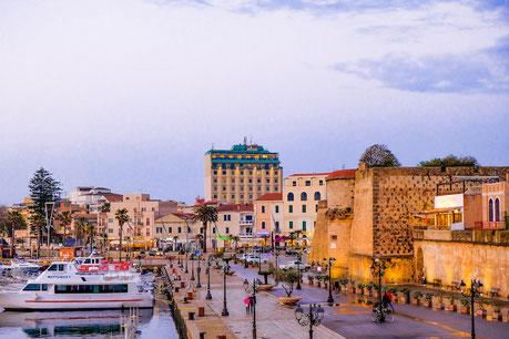 Hotel Catalunya in Background Alghero