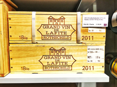 Grand vin de Lafite Rothschild in Der Wein Wine shop