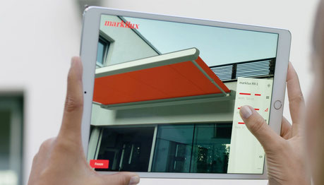 Markisen Markilux 3D App Gürtler