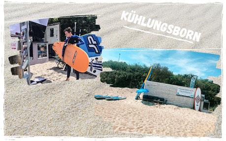 wellenreiten lernen an der Ostsee in Kühlungsborn, kinderkurse Surfen im Surfkurs