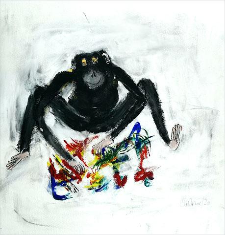 Christiane Holsten: Affenkunst VII