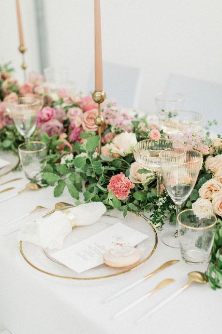 Hochzeitsdekoration |  Wedding Table Top | Tischdekoration| L´Art du Mariage, Agentur für Hochzeitsplanung