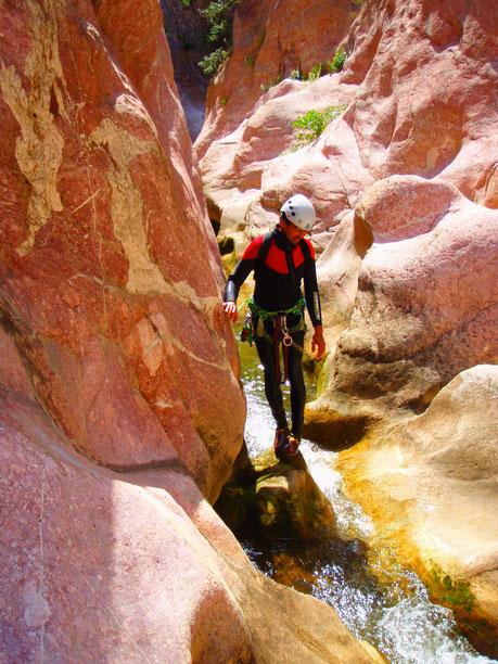 compétence, bon moniteur, en toute sécurité, eau vive, pleine nature, expérience, sensation,