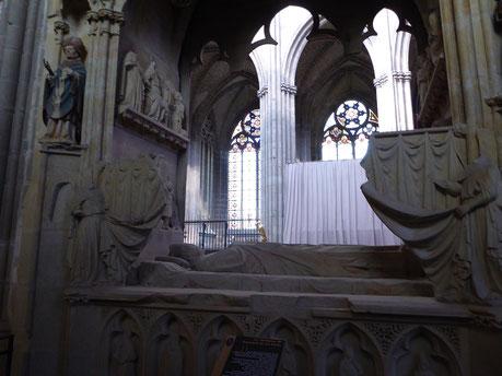 Tombeau de Raynaud de la Porte - Cathédrale de Limoges