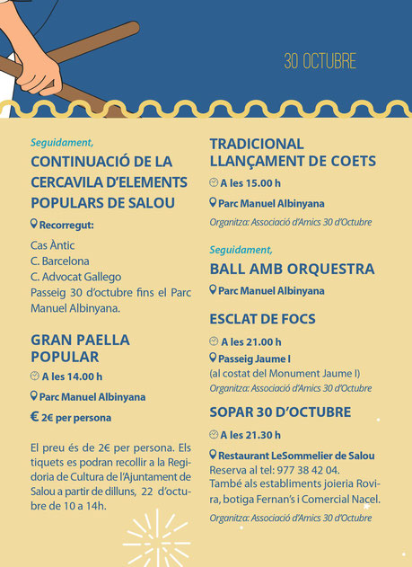 Programa de la Festa Major de Salou