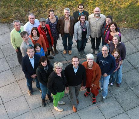 RAT-Gruppe mit Unterstützern und Freunden (Foto: M. Grohe)