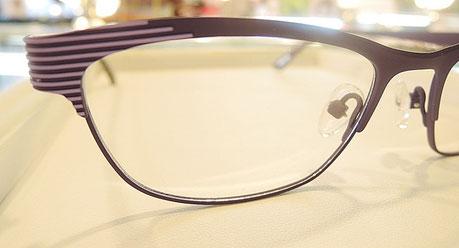 国際メガネ展でも注目のフランス製メガネ「Chamborelle」。独特のデコレーションが美しいと評判