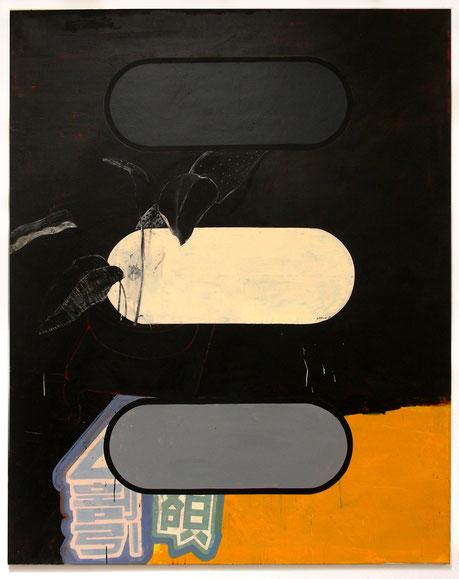 """""""Bioware I"""", 2006, 200 x 160 cm, Öl auf Leinen,"""