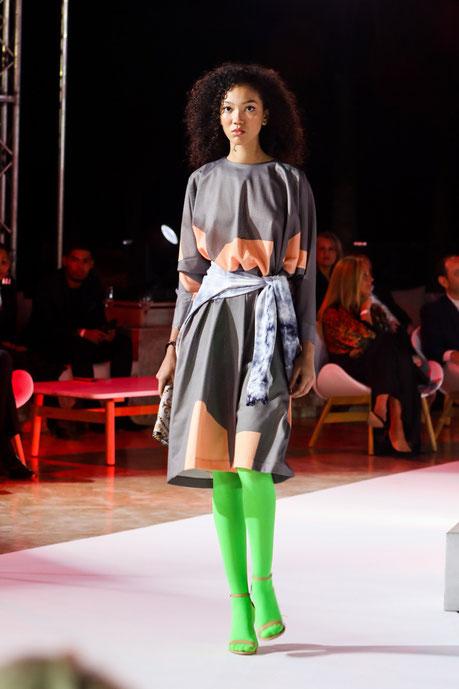 Morgane Chabaud, finaliste du concours Elite model look Antilles-Guyane lors de la finale internationale.
