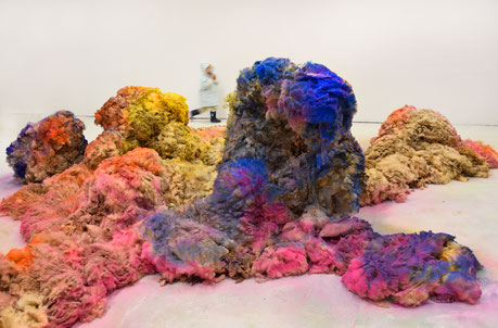 Nadine Baldow Marked Sheep Installation 2017