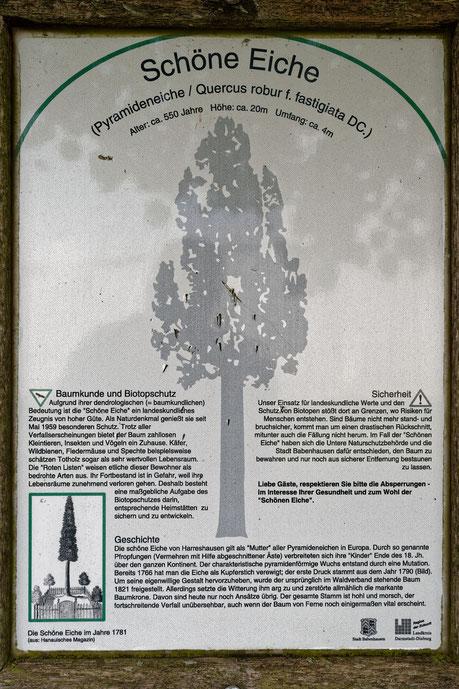 Informationstafel des Kreises Darmstadt-Dieburg von 2003