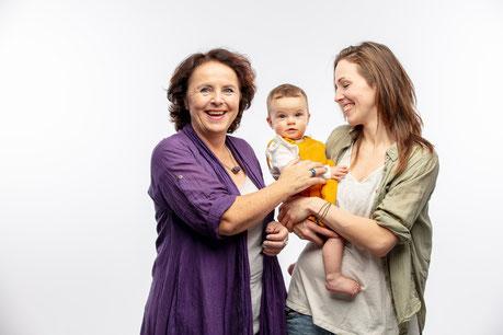 Individuelles Geschenk zur Geburt, Abdruck Babyfuß, Gipsabdruck