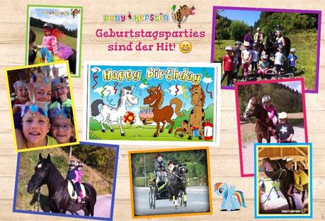 Ponykerstin Geburtstagsparty