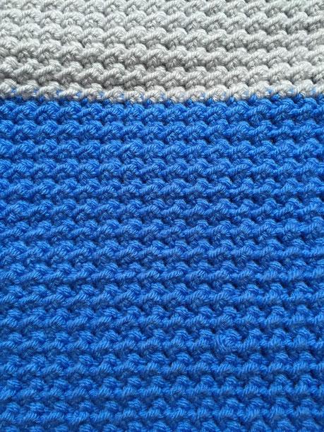 Tutorial Moos Muster Moss Stitch Häkeln Macht Glücklich