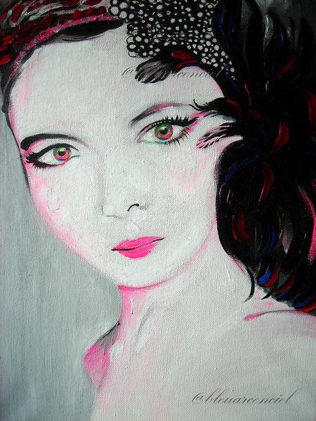 2012 Peinture à l'huile sur toile de coton 29/40 cm