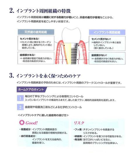 永井歯科医院 インプラント周囲炎とは 2