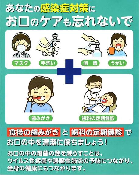 コロナ 茨木市 永井歯科医院 第3波