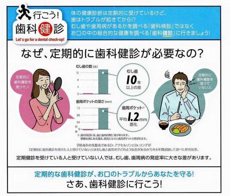 定期歯科健診 永井歯科医院 茨木市