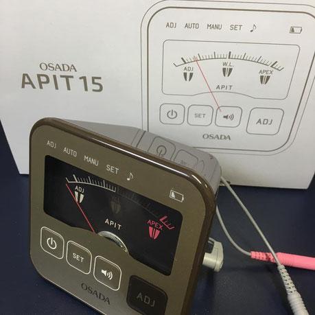 最新型根管長測定器 茨木市 永井歯科医院 根管治療