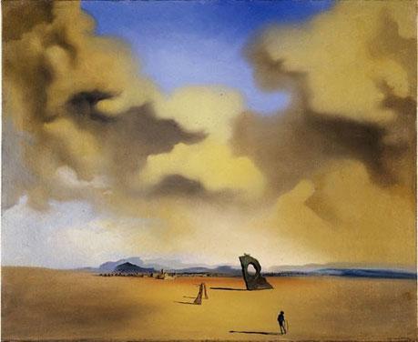 Призрак ночи на пляже. Сальвадор Дали, 1935, сальвадор дали сколько стоят картины