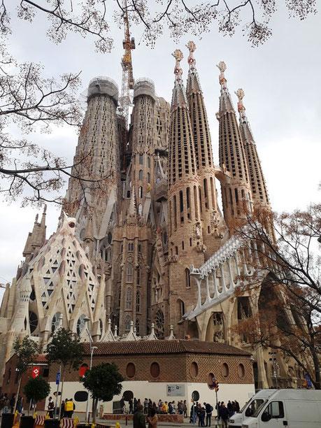 Все работы Гауди в Барселоне - Храм Святого Семейства