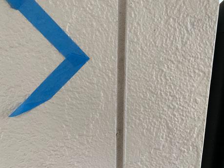 養老町、大垣市、平田町、南濃町、海津町、上石津町、輪之内町で外壁塗装工事中の外壁塗装工事専門店。養老町鷲巣で外壁塗装工事/既存シーリング撤去作業中