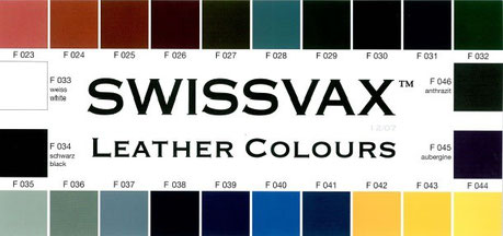 Swissvax Leather Colours
