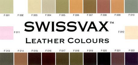 Lederfarben Swissvax