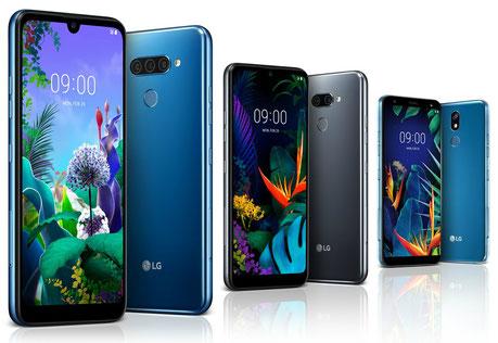 LG Q60, K50 y K40 - Características y precio