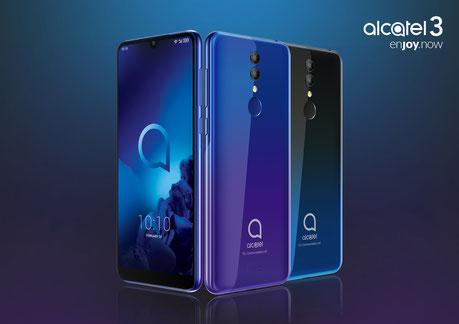 Nuevo smartphone Alcatel 3 - MWC 2019