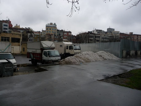 Standplatz in Istanbul