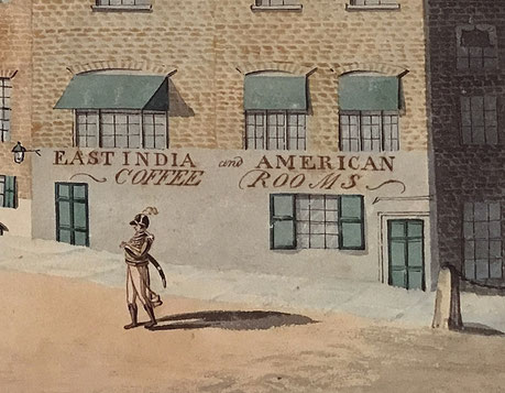 East India and America Coffee Rooms at the Albion Hotel, Ramsgate