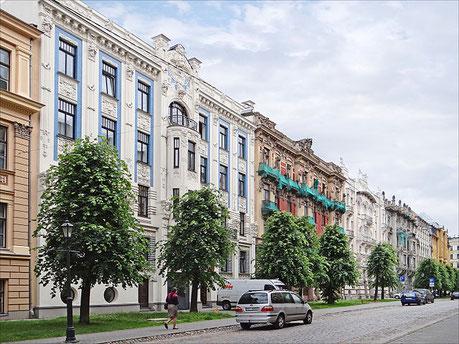 Riga Tour Streckenpunkt