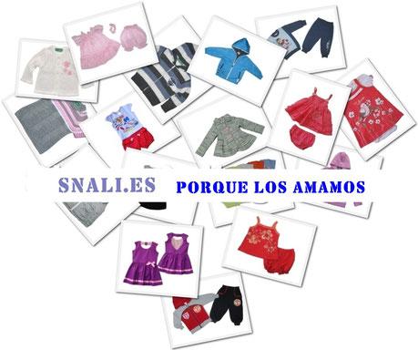 Snali.es Ropa y zapatos infantiles a precios bajos