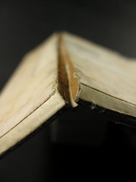 Buchrestaurierung_Holzdeckel