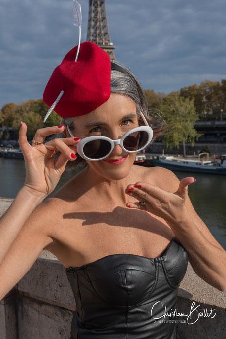 Cécile Descombes - Modiste - © Christian Baillet
