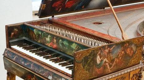 Harpsichord concert in Kiev