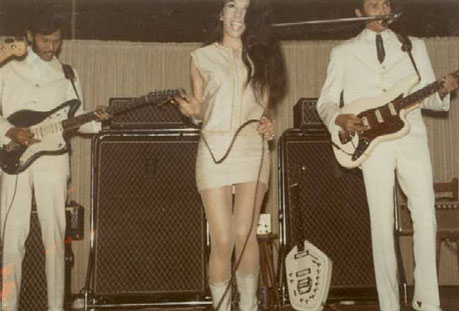 Andy, Jane and Reggy Tielman (Germany 1966) + VOX Guitar Organ
