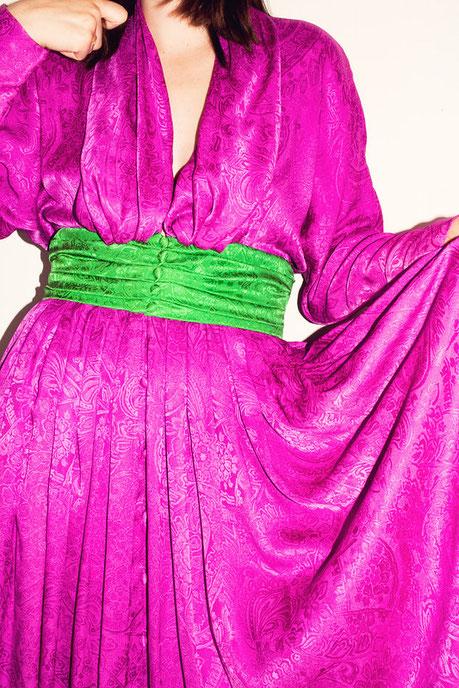 Felicita Vintage - Robe vintage Lanvin 80's en soie