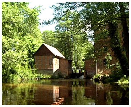 Heideort Müden Oertze Ansicht Wassermühle