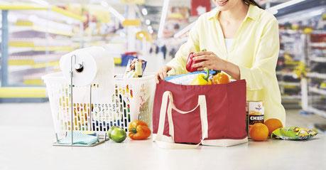 保冷温お買いものバッグを名入れします