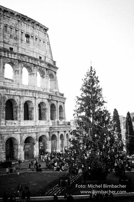 Rom, Colosseum, Christmas 2014