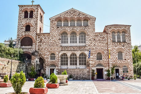 St Demetrios Church Thessaloniki Greece cruise shore tour Jewish