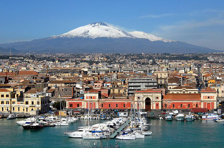 Catania and Etna Italy private city tour