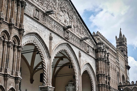 Exterior of the Palermo Cathedral Italy private city tours