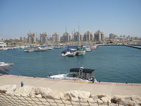 In the Harbour Ashdod Israel cruise Jewish tour