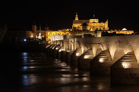 Mosque-Cathedral at Night Cordoba Spain Jewish tour
