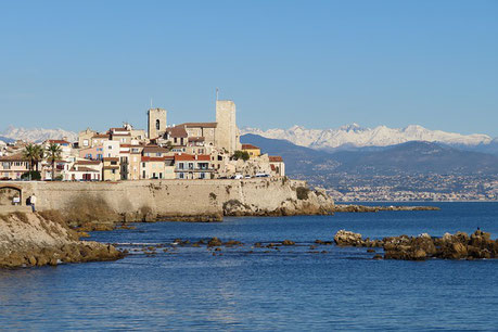 Antibes Fort France Jewish tour