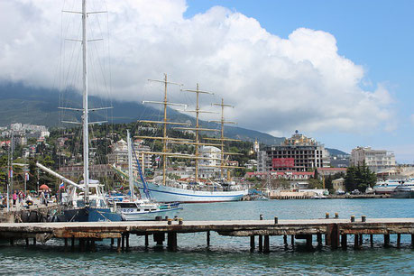 Harbor of Yalta