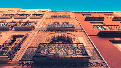 Andalusian Architecture Malaga Spain